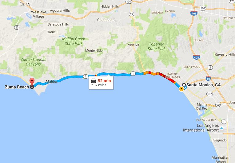 洛杉矶 Top 10 景观公路 Scenic Drives