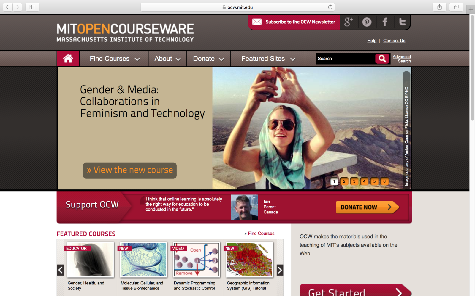 stanford opencourseware java Stanford center for professional development home programs courses graduate courses through stanford's program i helped create a community of over 4,000.
